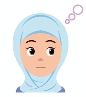 ムスリムのメイドさん